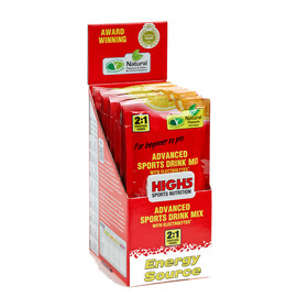 High5 EnergySource - Nutrition sport - Orange 12 x 47g jaune/rouge